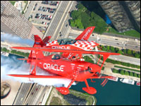 Flying with Team Oracle Prior to the Chicago Air & Water Show